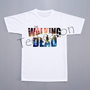 NEW Galaxy Shirt The Walking Dead T-Shirt Zombie T-Shirt Short Sleeves Shirt White Tee Shirt Women Shirt Unisex Shirt (S, M, L, XL)
