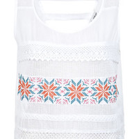 Cross stitch Top