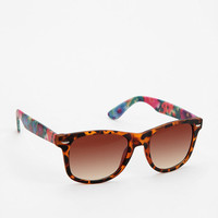 Urban Outfitters - Rubberized Floral Risky Sunglasses
