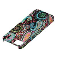 Paris Paisley Black iPhone 5 Covers from Zazzle.com