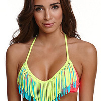 Body Glove Soraki Ibza Fringe Top at PacSun.com
