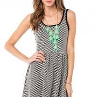 Checkerview Dress - ShopSosie.com