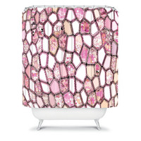 DENY Designs Home Accessories | Ingrid Padilla Pink Cells Shower Curtain