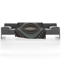 DENY Designs Home Accessories | Belle13 Mandala Paisley Fleece Throw Blanket