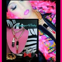 Over The Top With ElinPapi4Baby — ★XL LIPSTICK★ Necklace (LIMITED EDITION)
