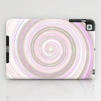 Re-Created Spin Painting No. 17 iPad Case by Robert Lee