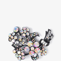 Rhinestoned Bouquet Pin