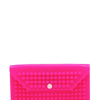 studded-silicone-clutch HOTPINK MINT NEONGREEN - GoJane.com