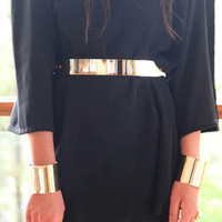 Coveted Gold Metal Plated Belt -  $25.00 | Daily Chic Accessories | International Shipping