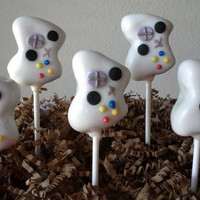 Xbox Cake Pops - Xbox Controller Cake Pops - Video Lover Cake Pops - Video Game Cake Pops