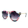 Retro Flower Frame Sunglasses