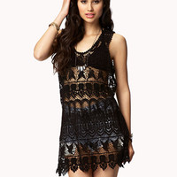 Crocheted Tank | FOREVER 21 - 2047941384