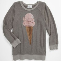 Wildfox 'Breakfast' Baggy Sweatshirt (Big Girls) | Nordstrom