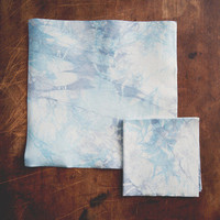 Tie-Dye Leather Cocktail Napkins | Bottle Stock