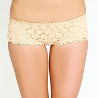 Free People Crochet Swim Shorts