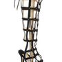 Jimmy Choo|Mogul studded suede cage sandals|NET-A-PORTER.COM
