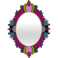 DENY Designs Home Accessories | Paula Ogier Gemstone Baroque Mirror