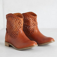 Woven Trail Booties