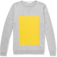 London Collections. Men Richard Nicoll Merino Wool Crew Neck Sweater | MR PORTER