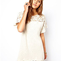 ASOS Crochet Lace Detail Tunic at asos.com