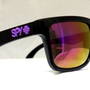 mysunglasses — New Spy Helm Sunglasses Spy+ Ken Block Livery Black Polished Red Iridium sp1