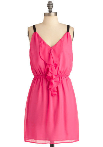 Look to the Fuchsia Dress | Mod Retro Vintage Dresses | ModCloth.com