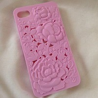 NEW Floral Detail iPhone 4/4S Hard Case