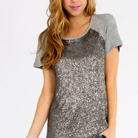 Madison Sequin Top $26