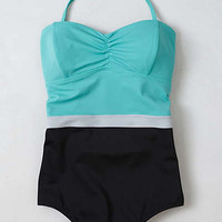 Anthropologie - Rodanthe Colorblocked Maillot