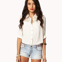 Southwestern Embroidered Cut-Offs