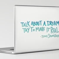 TALK ABOUT A DREAM Laptop &amp; iPad Skin by Leah Flores | Society6