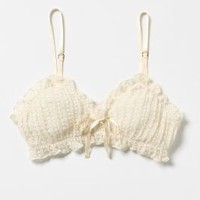 Ruffled Cashmere Bralette?-?Anthropologie.com