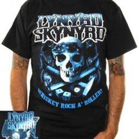 Lynyrd Skynyrd, T-Shirt, Whiskey Rock