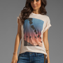 Wildfox Couture Canyon Palms Oversized Tee in Dionne from REVOLVEclothing.com