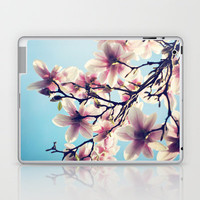 May Magnolias  Laptop & iPad Skin by Shilpa