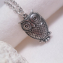 The Hootie Geekery Owl Pendant Necklace