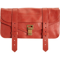 Proenza Schouler PS1 Pochette Suede at Barneys.com
