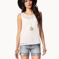 Essential Geo Lace Tank