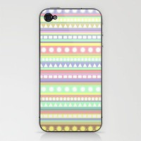 Pastel Pattern iPhone &amp; iPod Skin by Romi Vega | Society6