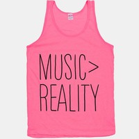 Music is Better Than Reality | HUMAN