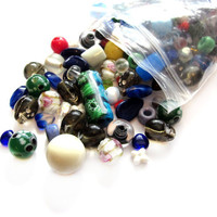 Huge Destash Salvage Lot Glass Beads