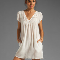 Bobi Gauze Mini Dress in Light from REVOLVEclothing.com