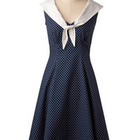 Cute Clipper Dress | Mod Retro Vintage Dresses | ModCloth.com