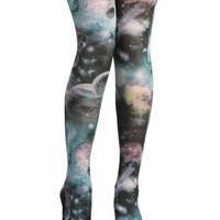 Space-Tights Continuum | Mod Retro Vintage Tights | ModCloth.com