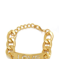 embellished-love-plate-bracelet GOLD - GoJane.com