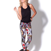 Queen of Hearts Leggings (Made to Order)