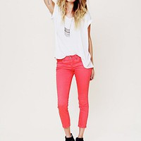 Free People 5 Pocket Ankle Crop