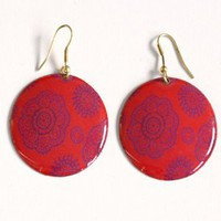 Handmade Earrings - Medallion earrings