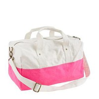 Neon Azalea Canvas overnight bag - bags - Girl&#x27;s jewelry &amp; accessories - J.Crew