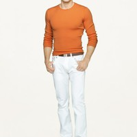 Stretch Five-Pocket Chino - Flat-Front   Pants  - RalphLauren.com